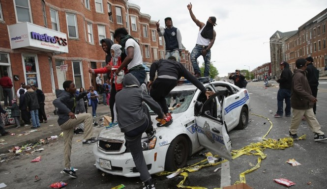 Baltimore riots 2015 images
