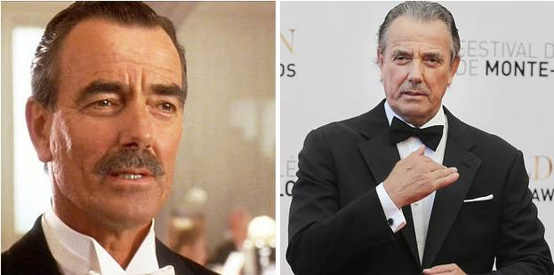John Jacob Astor IV played by Eric Braeden