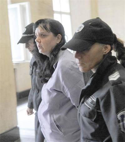 midwife Emilia Kovacheva ( 40 ) has beaten a four- day-old girl nearly to death !