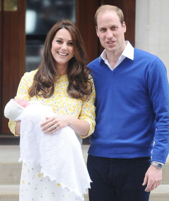 William, Kate & Princess