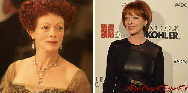 Ruth DeWitt Bukater played by Frances Fisher