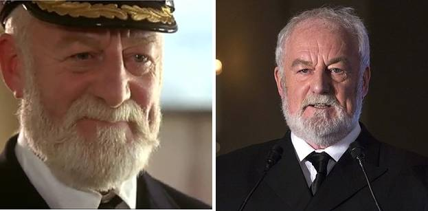 Captain Edward John Smith played by Bernard Hill