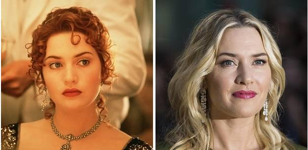 Rose DeWitt Bukater played by Kate Winslet in Titanic