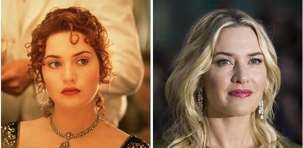 Rose DeWitt Bukater played by Kate Winslet in Titanic