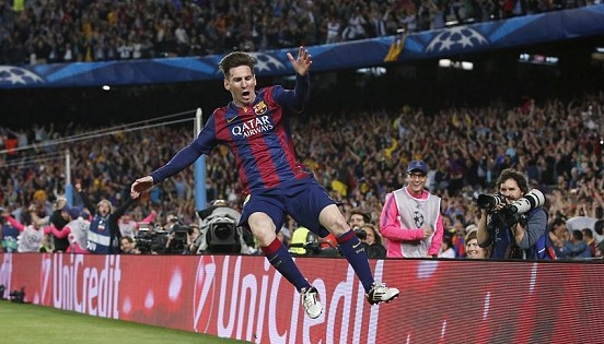 Lionel Messi: Barcelona beat Bayern Munich