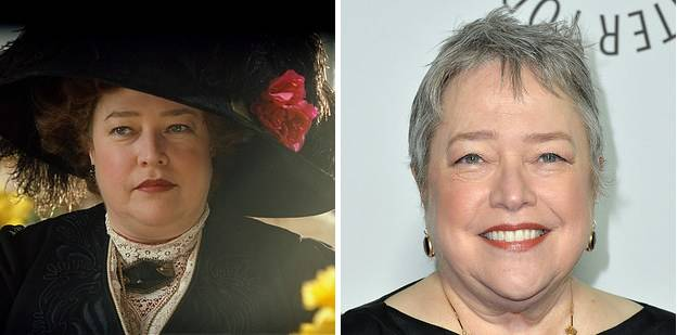 "Margaret "" Molly"" Brown played by Kathy Bates in Titanic"