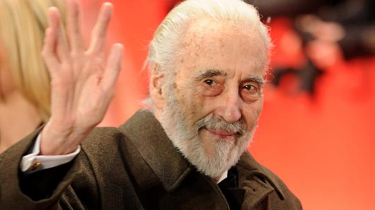 actor Christopher Lee is dead