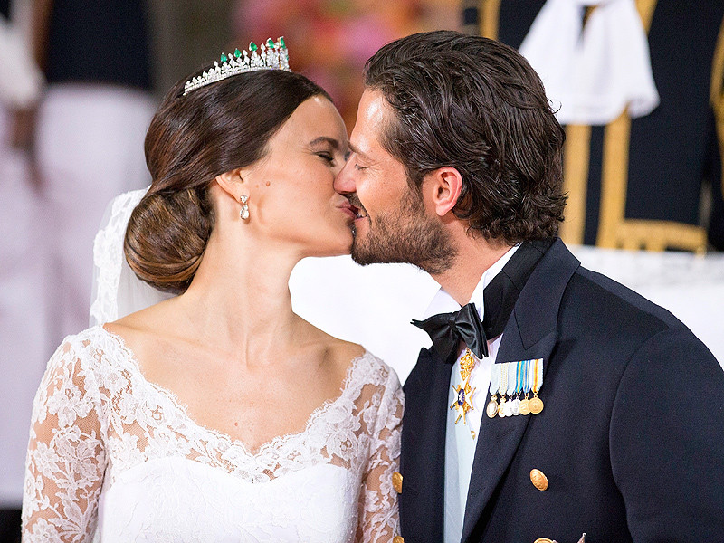 Prince Carl Philip and Sofia got married