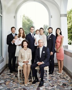 famille royale suedoise