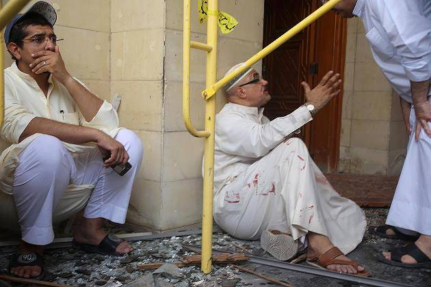 terrorist attack on Shiite mosque in Kuwait