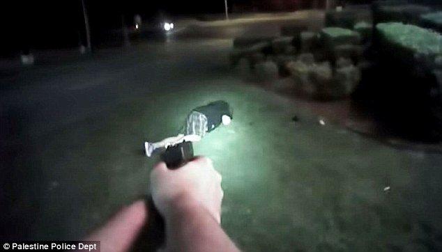 Suspect pulls BB gun on cops