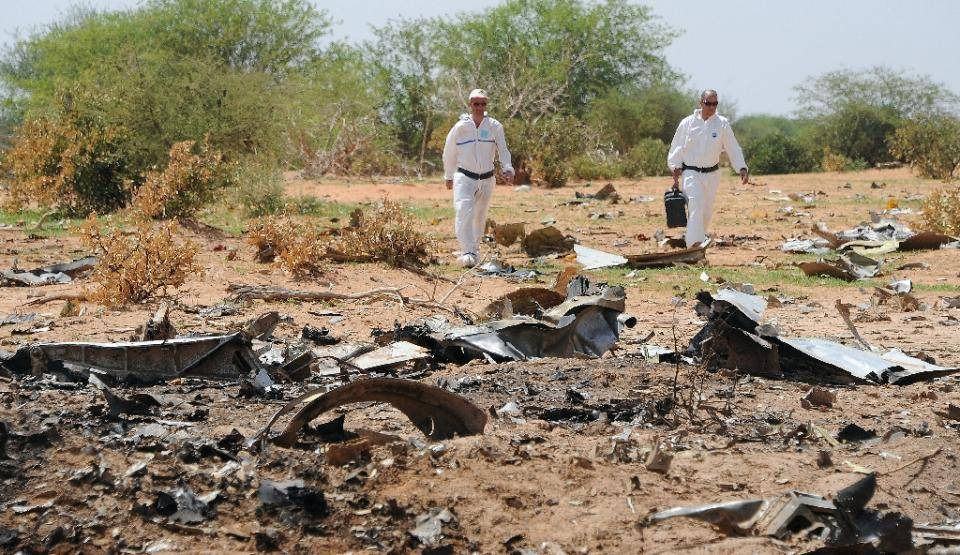 Air Algerie Crash
