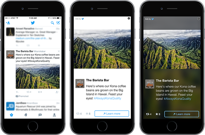 Twitter brings Twitter Audience Platform, Video Ads To Outside Apps