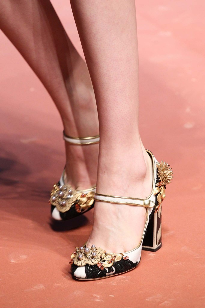 Dolce Gabbana shoes fall 2015 Milan Chiko blog 21
