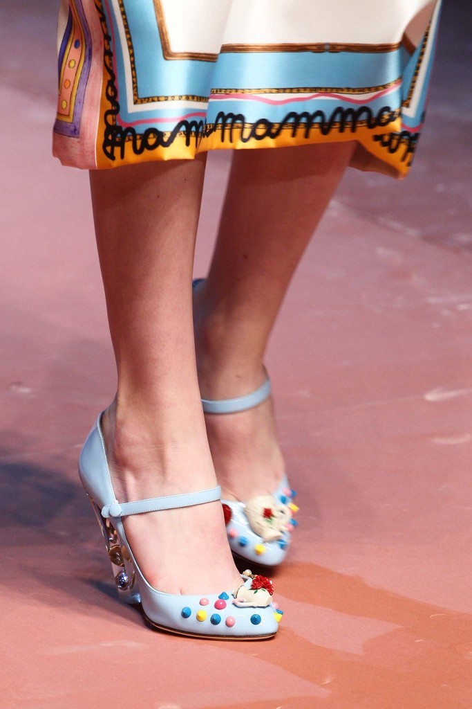 Dolce Gabbana shoes fall 2015 Milan Chiko blog 23