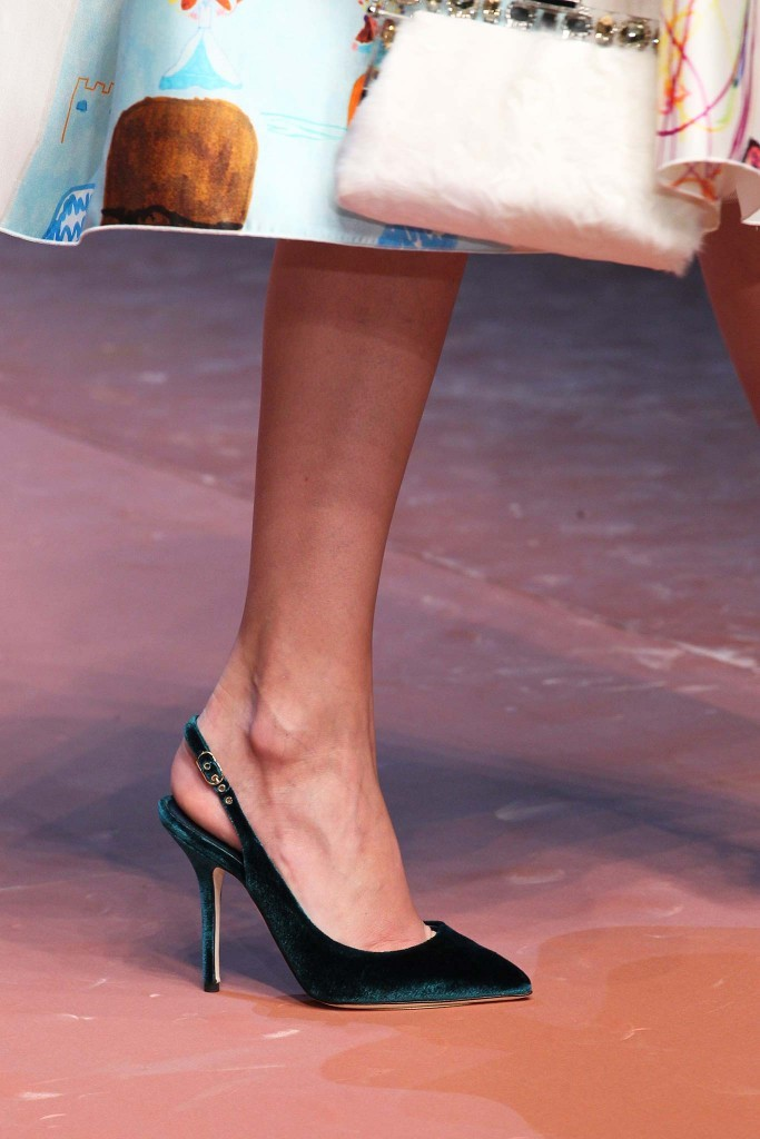 Dolce Gabbana shoes fall 2015 Milan Chiko blog 24