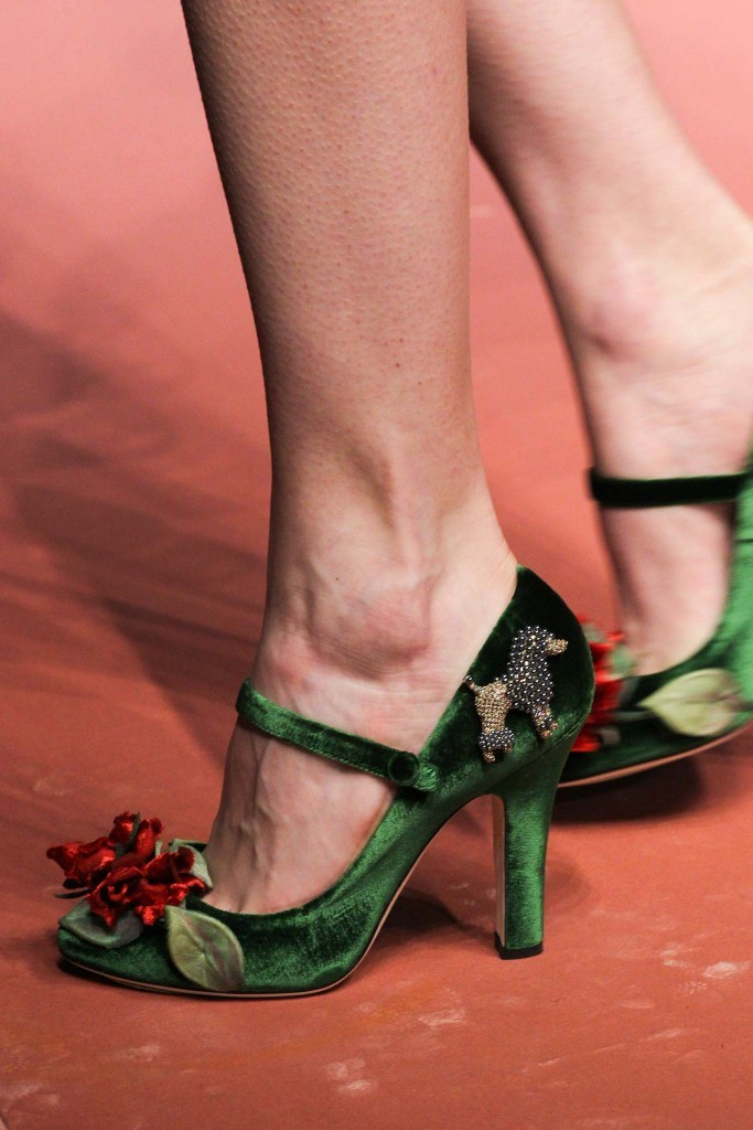 Dolce Gabbana shoes fall 2015 Milan Chiko blog 3