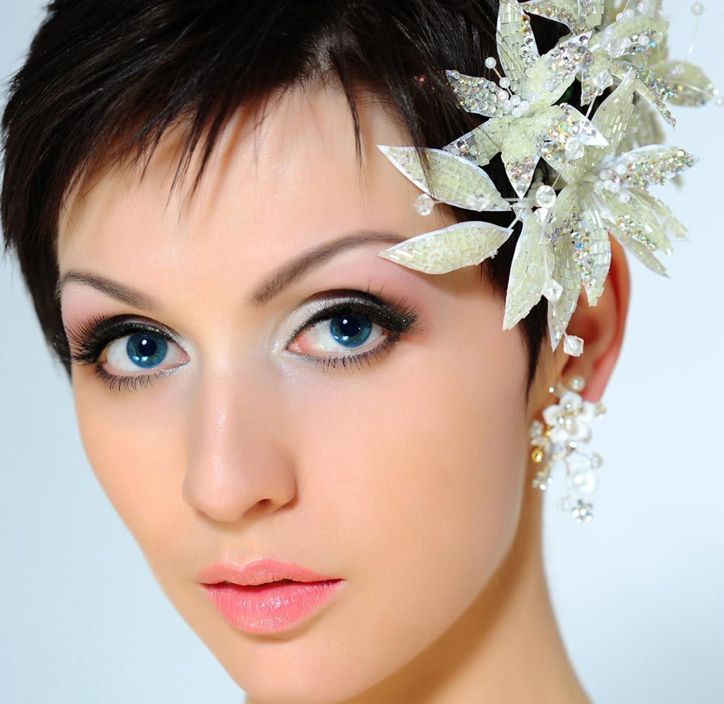 Wedding Hairstyles For Short Hair Collection 2015