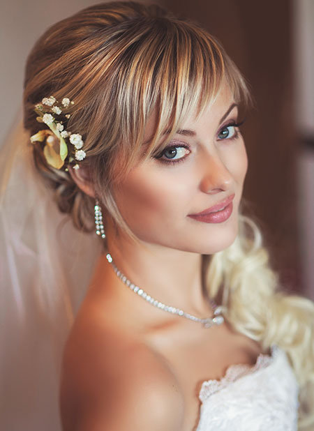 wedding side updos for short hair ponytail wedding hairstyles