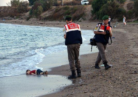 Shocking Photo of the little Syrian Boy Aylan Kurdi