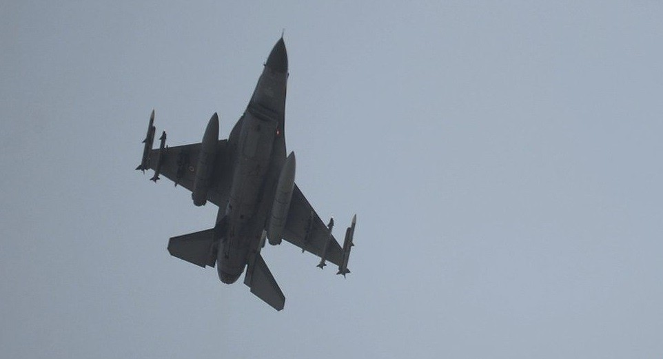 Turkish air force bombed PKK in Iraq