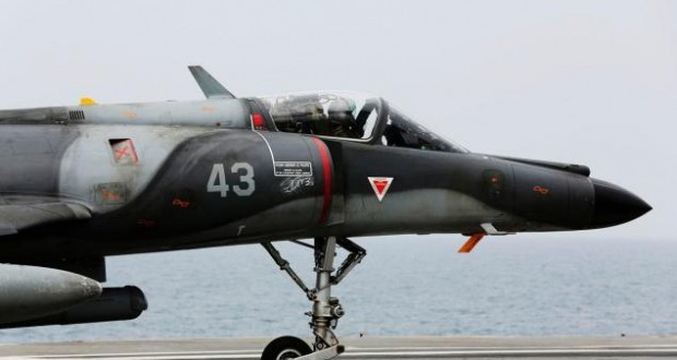 France has led its first air strike in Syria