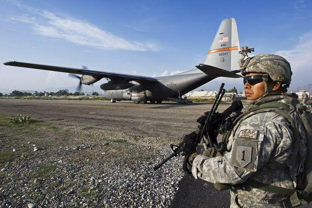 Lockheed C-130 Hercules plane crashed