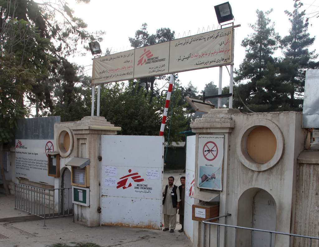 Doctors Without Borders (MSF) bombed in Kunduz