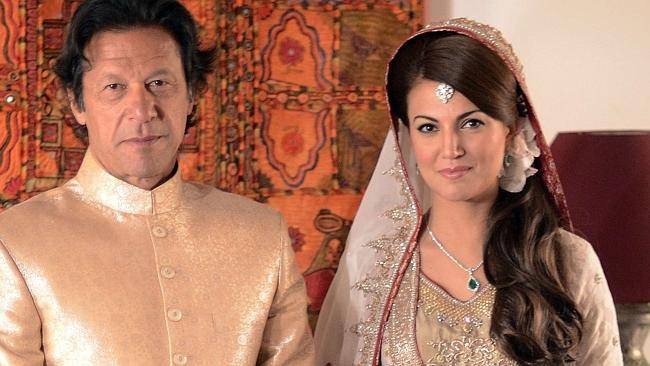 Divorce between Imran Khan and Ex Pakistani Talk Show host