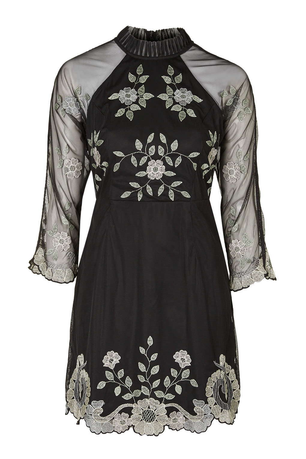 No. 3 in Christmas eve outfits : Embroidered Shift Dress @ £120.00