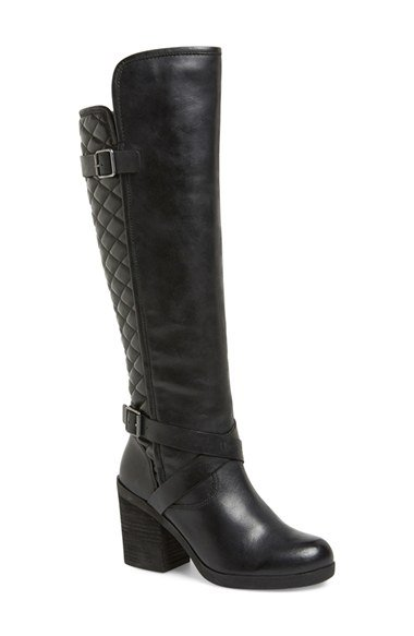 Lucky Brand - Oryan Leather Knee-High Boots