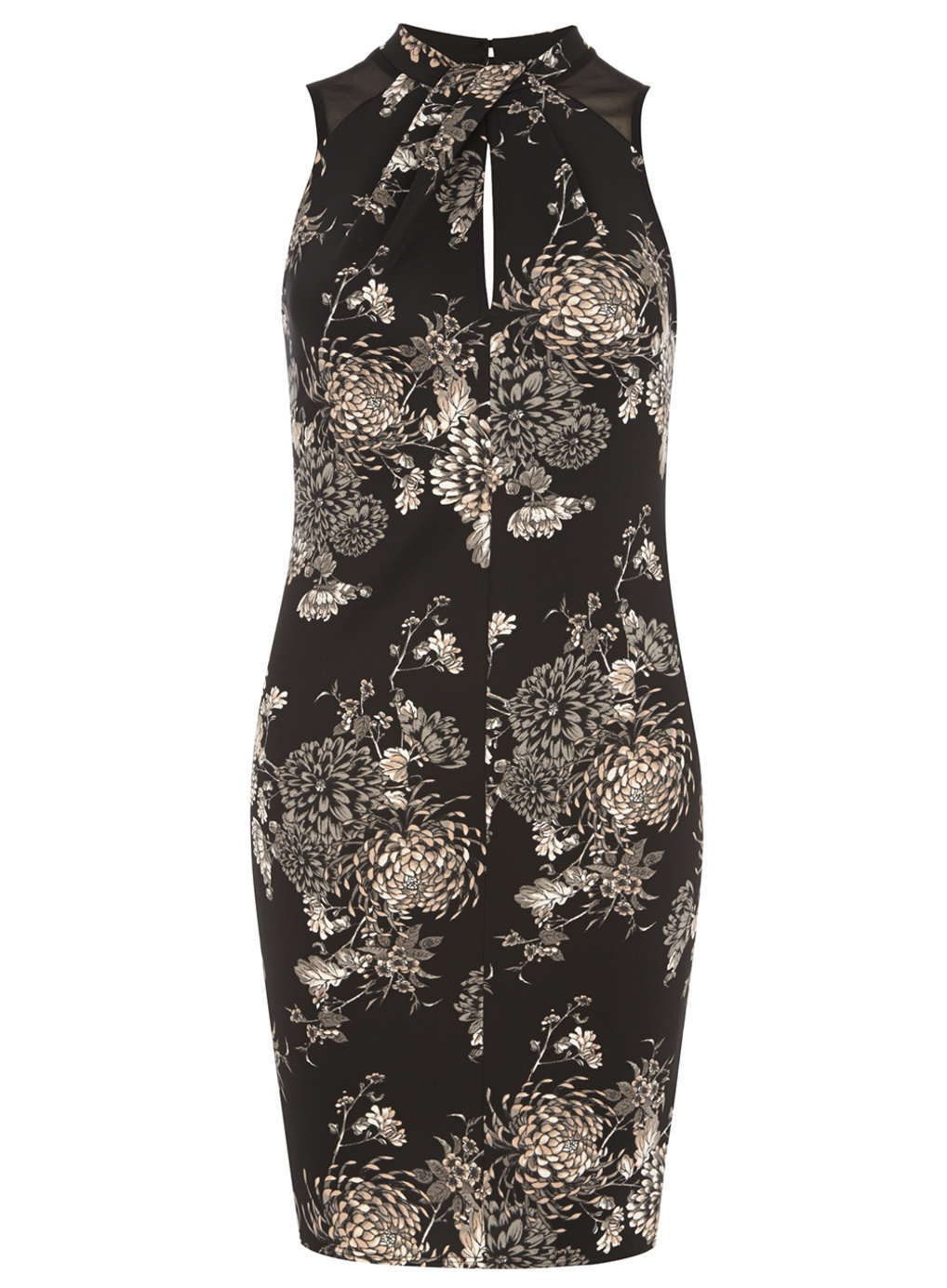 No. 9 in Christmas eve outfits : Petite Floral Print Dress @ £24.00