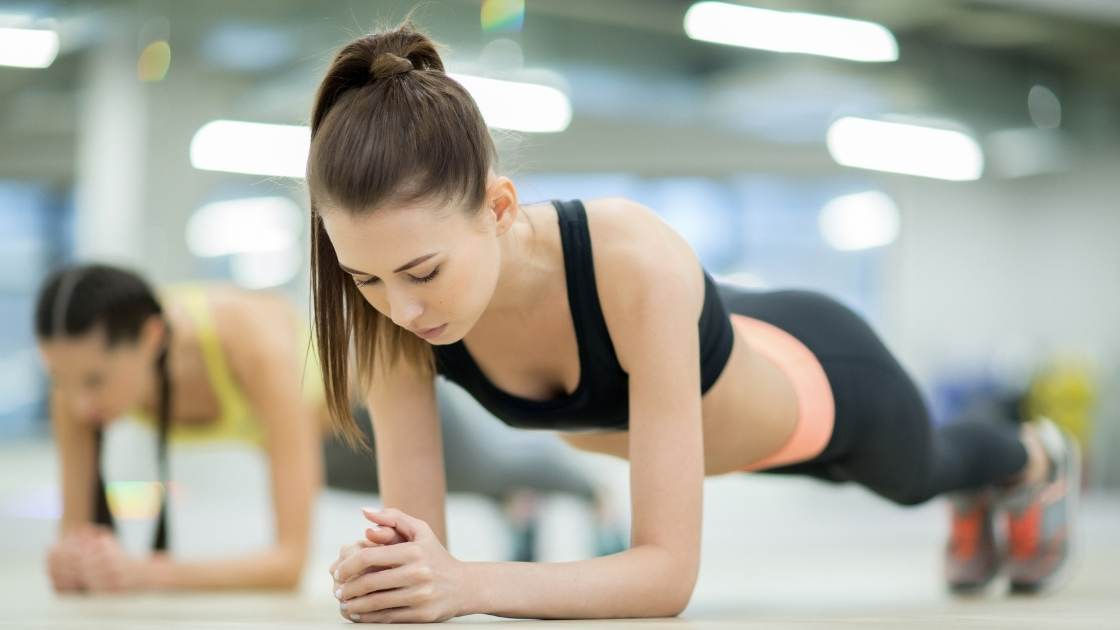 Planks to reduce upper back fat