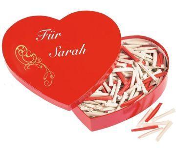 015 normal love heart mit personalisierung