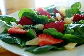 Salad for Valentines day dinner