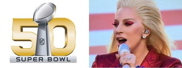 Super Bowl Denver Broncos - Lady gaga