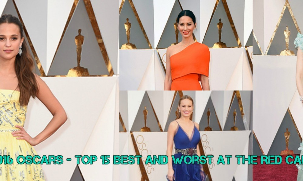 2016 Oscars - the red carpet