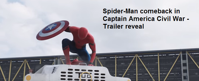 Spider-Man in Captain America Civil War