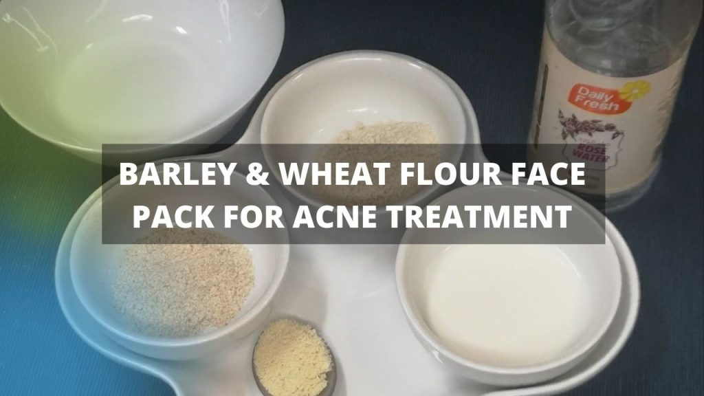 Barley & Wheat Face Pack for Acne