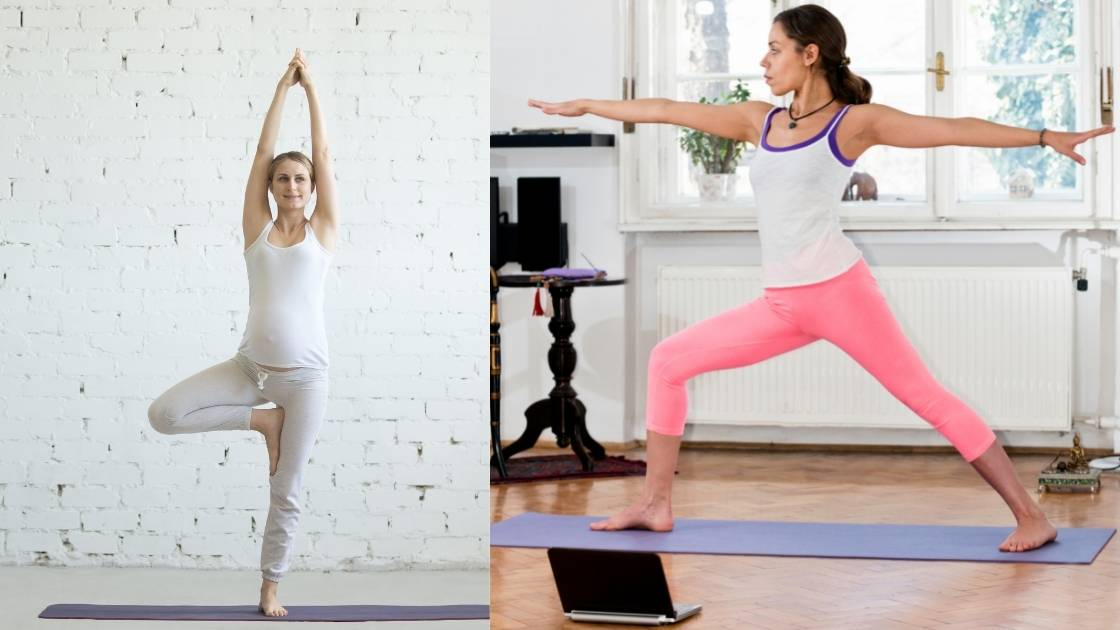 Yoga to reduce hip fat